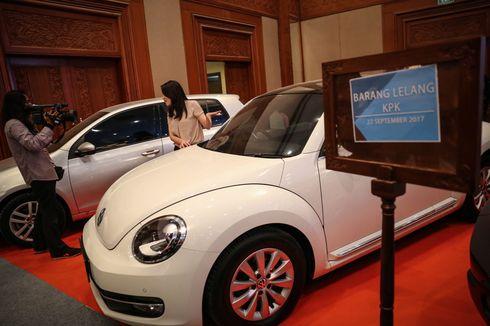 KPK Siap Lelang Mobil dan Perhiasan Koruptor Bernilai Miliaran Rupiah