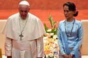 Warganet di Myanmar Kecam Paus Fransiskus Gunakan Istilah 'Rohingya'