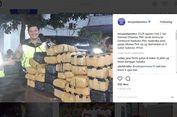 Pikap Pembawa Ratusan Paket Ganja Dihentikan Polisi di Gatot Soebroto