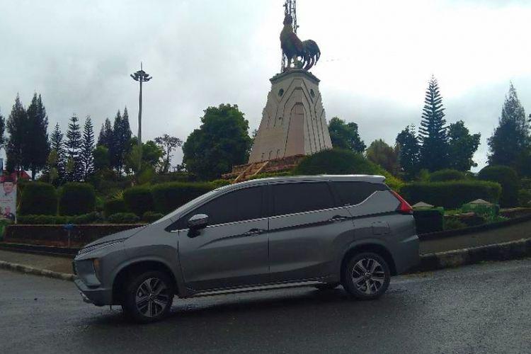 Mitsubishi Xpander diuji di jalan lintas Sumatera Barat