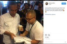 Di Kedai Tuku, Jokowi Pesan