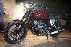 Moto Guzzi V7 II Stone ala Pria Berewok