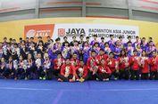 Tragis! Indonesia Gagal Juara Asia Junior Championships