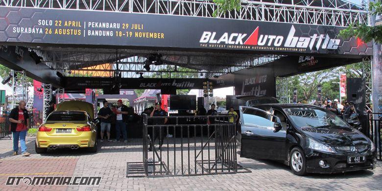 Black Auto Battle 2017 Solo(Stanly/KompasOtomotif)