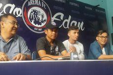 Arema FC Resmi Kontrak Gelandang Serang Asal Brasil