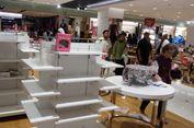 Diskon Besar, Banyak Barang di Matahari Pasaraya Blok M Habis Terjual