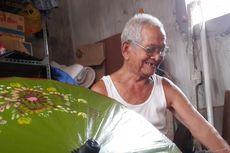 Mbah Mun, Generasi Terakhir Perajin Payung Kertas