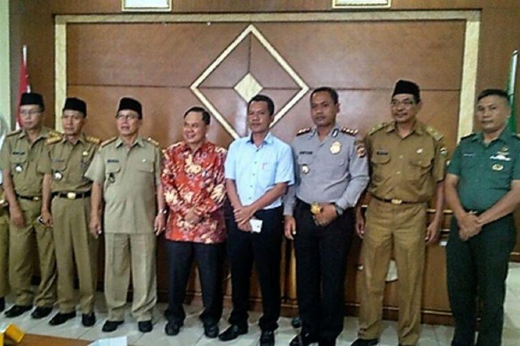 Pemerintah Kabupaten Tasikmalaya menggelar rapat koordinasi persiapan penyelenggaraan Pilkada Jawa Barat 2018