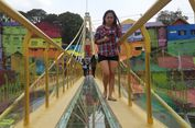 Jembatan Kaca Kampung Warna-warni Malang, Unik tetapi Berbahaya