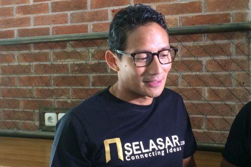 Sandiaga: Erwin Aksa Membantu di Saat-saat Terakhir