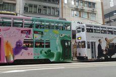 Menikmati Sepoi Angin dan Sensasi Naik Trem di Hongkong