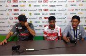 Gomes Sayangkan Cedera Fabiano dan Redouane Zerzouri