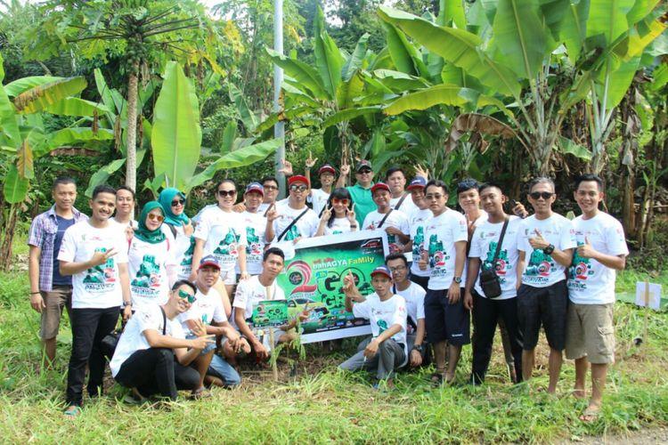Perayaan 2 tahun Toyota Agya Club chapter Bandar Lampung