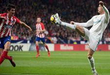Hasil Liga Spanyol, Tanpa Gol pada Derbi Atletico Vs Real Madrid