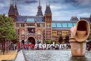 Terbuai Slogan I Amsterdam, Kami Langsung Jatuh Cinta...