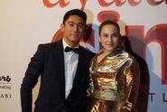 Chelsea Islan Gandeng Daffa di Gala Premiere 'Ayat Ayat Cinta 2'