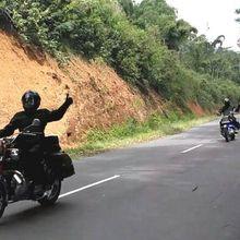 Biker Gaek Tempuh 5.000 Km Lintasi Indonesia