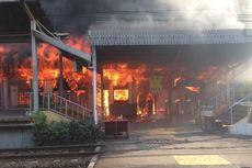 Pasca Kebakaran, Stasiun Klender Sudah Bisa Dilintasi KRL