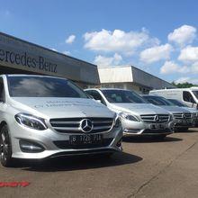 Mudik Bawa Mercedes-Benz Jadi Ajang Pamer