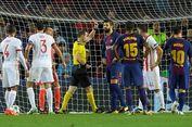 Kartu Merah Pique, Pertama di Liga Champions tapi Ke-9 dalam Karier