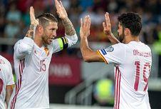 Ramos Minta Suporter Hormati Pique saat Spanyol Jamu Italia di Bernabeu