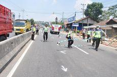 Polisi Kembali Gelar Olah TKP Kecelakaan Beruntun di Bawen