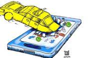 Mengimplementasi Peraturan soal Taksi Online secara Konsisten