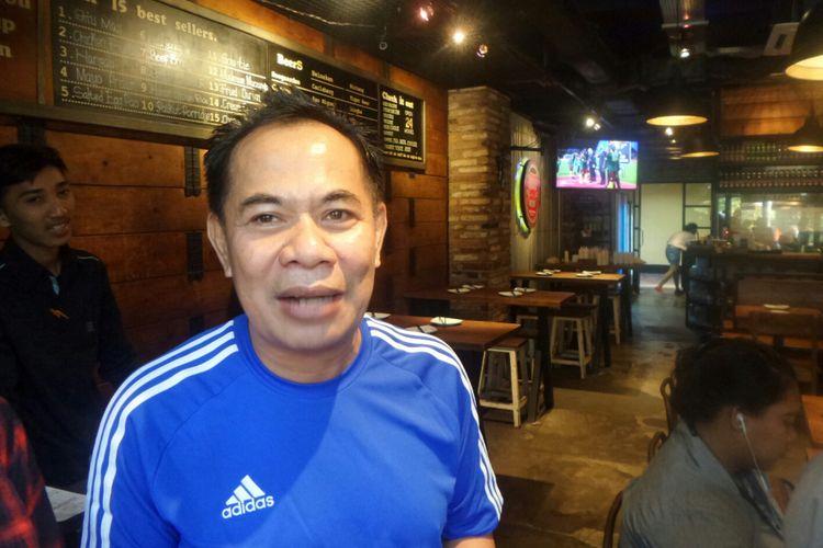 Kepala Dinas UMKM dan Perdagangan DKI Jakarta Irwandi di kawasan Kuningan, Jumat (4/8/2017).