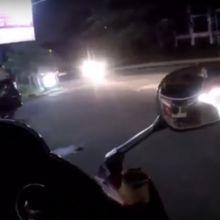 Pengendara Moge yang Masuk Tol Diburu Polisi