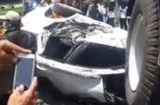 Suasana Menegangkan Evakuasi Sopir Mobilio yang Tertimpa Truk di Pantura
