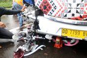 Bus Tabrakan dengan Sepeda Motor, Satu Keluarga Tewas Seketika