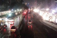 Sempat Bikin Heboh, Busa Mirip Salju di Jalan Sudirman Tak Tampak Lagi