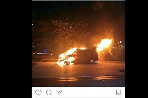 Kronologi Kebakaran Mobil di Dekat Central Park