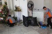 Setelah Balai Kota Kebanjiran Karangan Bunga