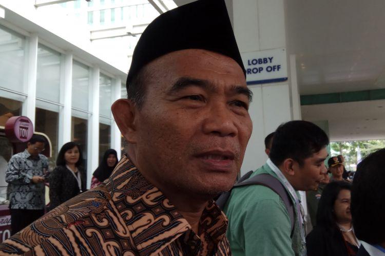 Menteri Pendidikan dan Kebudayaan (Mendikbud) Muhadjir Effendy menolak usulan Ketua Kwaran Nasional Gerakan Pramuka, Adhyaksa Dault agar Gerakan Pramuka dinaungi kementeriannya. Jakarta, Senin (21/8/2017).