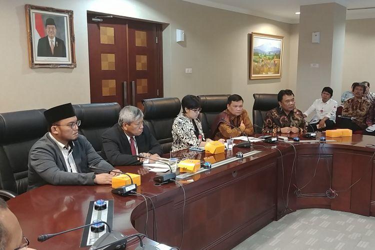 Diskusi publik di Kantor Staf Presiden, Jakarta, Kamis (7/9/2017).