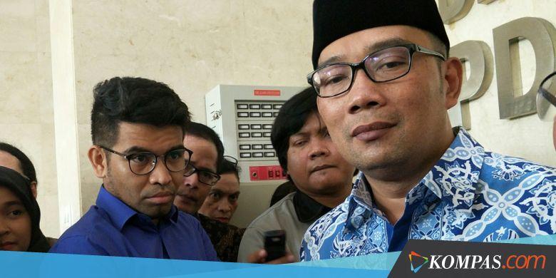 Deadlock, Ridwan Kamil Serahkan Nama Wakilnya ke Parpol Pendukung