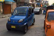 Ada Bajaj Roda Empat di Jalanan Jakarta, Ini Kata Dishub