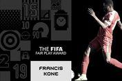 Selamatkan Nyawa 4 Pemain, Kone Raih FIFA Fair Play Award 2017