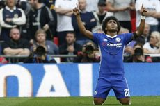 Dikabarkan Jadi Target Man United, Willian Pastikan Tetap di Chelsea