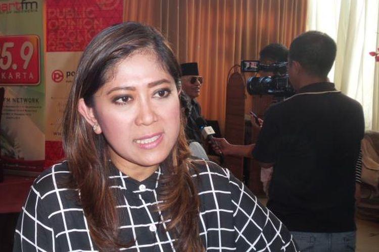 Anggota DPR RI Komisi I fraksi Partai Golkar Meutya Hafid.