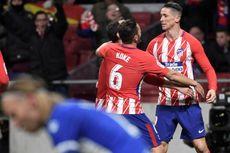 Hasil Liga Spanyol, Atletico Geser Valencia dari Posisi Kedua