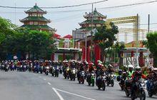 Ribuan CB150R Kongkow di Pasuruan