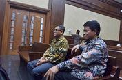 Rindu Anak dan Istri, Irjen Kemendes Menangis di Pengadilan