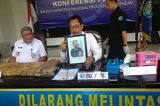 Ganja Kering 10,68 Kg yang Diamankan di Semarang untuk Disebar di Bali