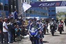 Spirit Pembalap yang Dituangkan dalam Yamaha R15