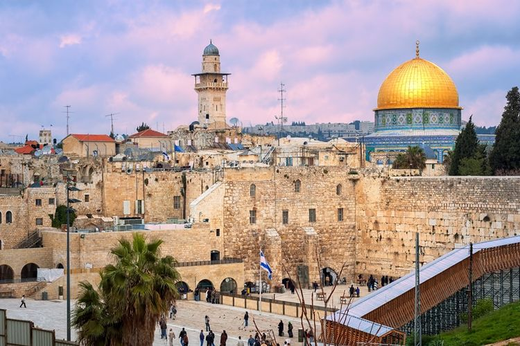 Kota Yerusalem, menjadi ganjalan utama proses perdamaian Israel-Palestina.