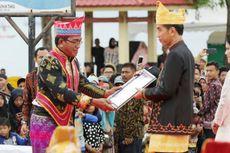 Dihadiri Jokowi, Tradisi Mappanretasi di Tanah Bumbu Merajut Kebinekaan