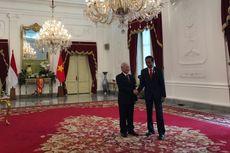 Jokowi Terima Sekjen Partai Komunis Vietnam di Istana