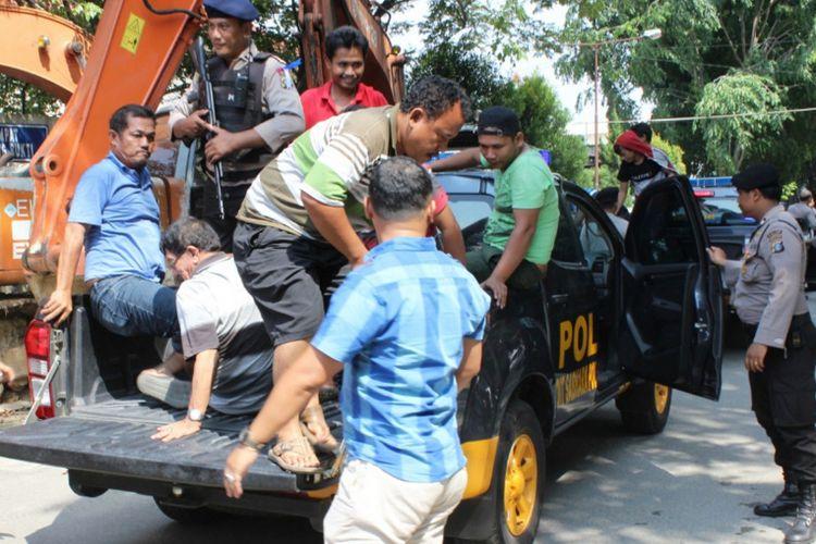 Kadiv Pas Hermawan Yunianto mengatakan, melimpahnya jumlah warga binaan di Sumut bermula dari  penegakan hukum dimulai dari polisi, jaksa, hakim, lalu bermuara ke lapas dan rutan, Jumat (1/12/2017).